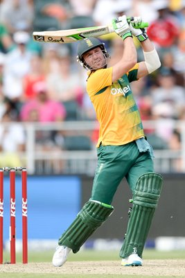 AB de Villiers South Africa v England KFC T20 International