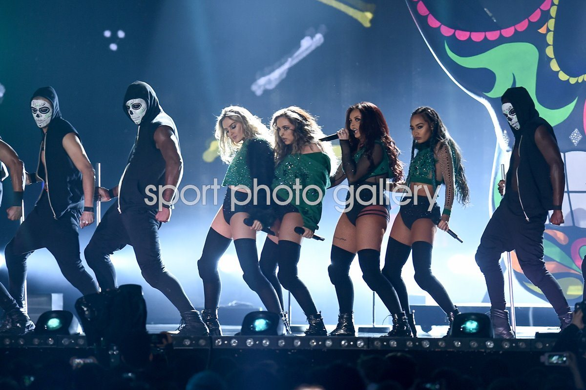 Little Mix Brit Awards London 2016