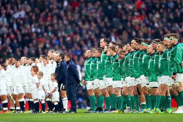 England v Ireland 6 Nations Twickenham 2016