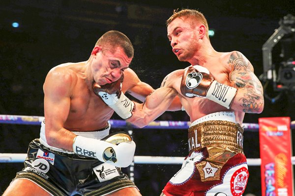 Carl Frampton v Scott Quigg World Title Fight 2016