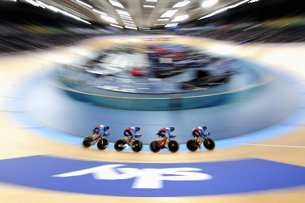 Canada Team Pursuit Track Worlds London 2016