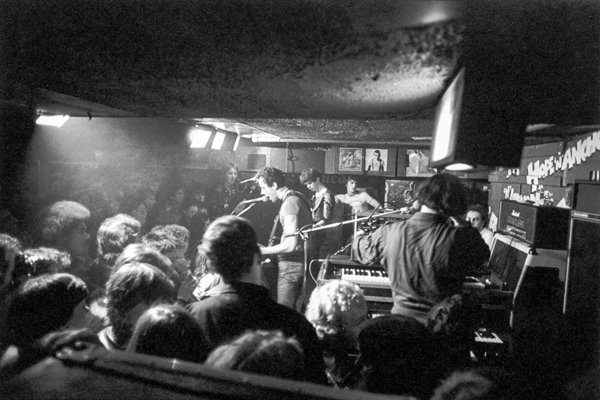 The Stranglers @ The Hope & Anchor in Islington 1977