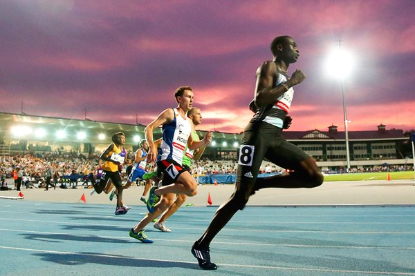 David Rudisha Kenya Melbourne World Challenge 2016