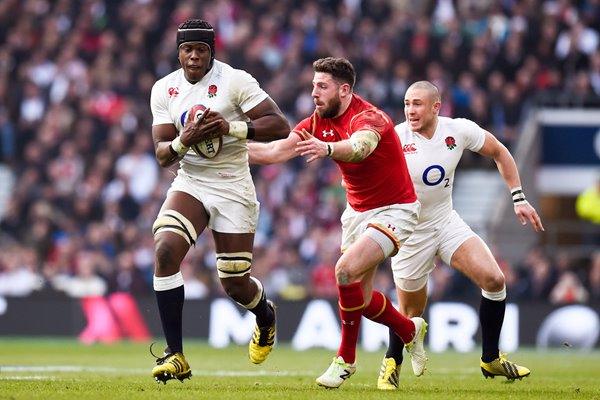 Maro Itoje England v Wales Six Nations Twickenham 2016