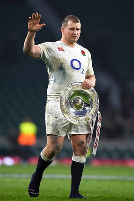 Dylan Hartley England Captain Triple Crown Twickenham 2016