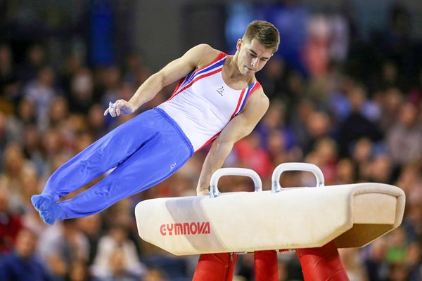 Max Whitlock Glasgow FIG Artistic World Cup 2016