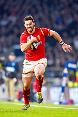 George North Wales scores v England 6 Nations 2016