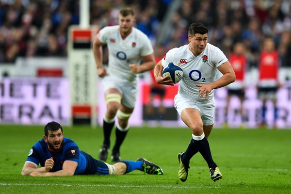 Ben Youngs England v France 6 Nations Paris 2016