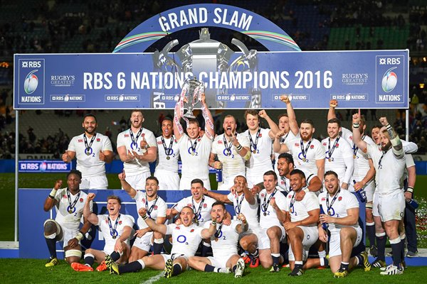 2016 England 6 Nations Grand Slam Champions
