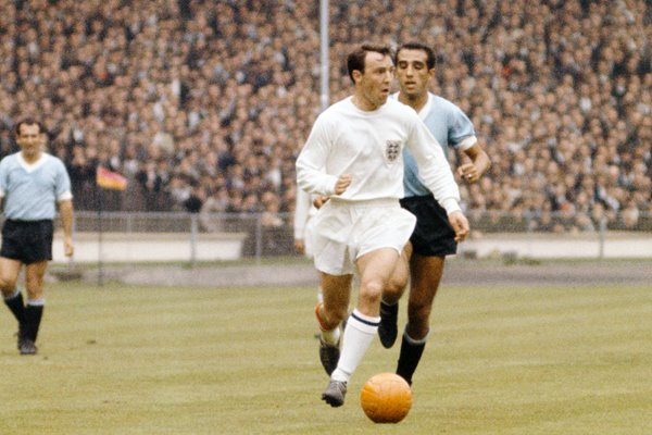 Jimmy Greaves England v Uruguay 1966 World Cup Finals
