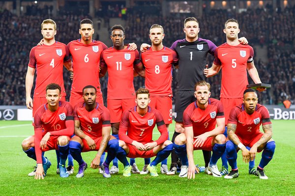 England team v Germany Olympiastadion Berlin 2016