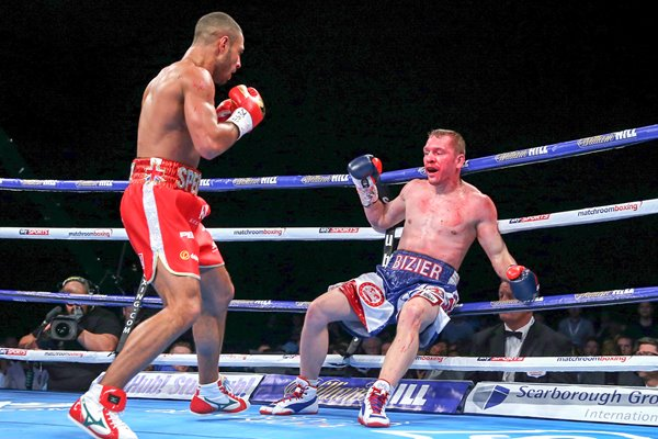 Kell Brook beats Kevin Bizier Sheffield Arena 2016
