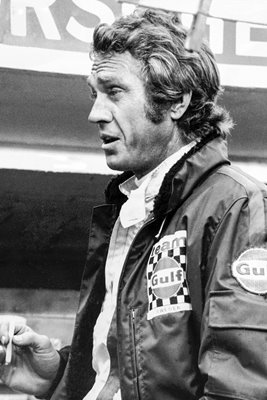 McQueen At Le Mans