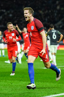 Eric Dier England scores v Germany Berlin 2016