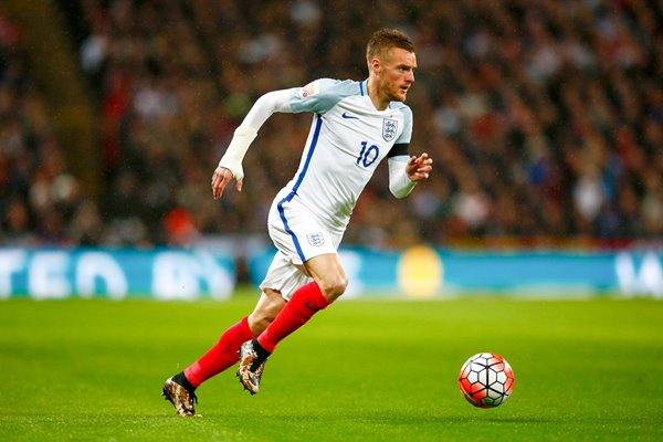 Jamie Vardy England v Holland Wembley 2016