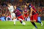 Messi Barcelona v Modric Real Madrid Wall Sticker