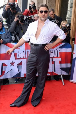 David Walliams as Simon Cowell Britain's Got Talent 2016