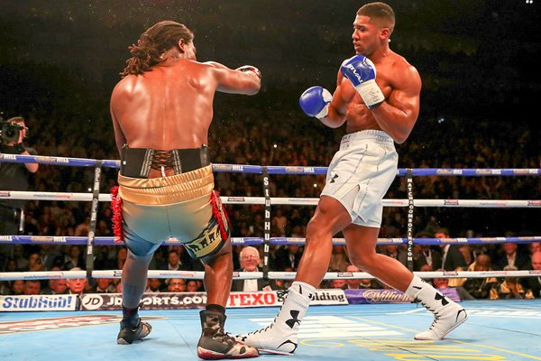 Anthony Joshua knocks out Charles Martin O2 2016