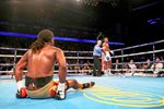 Anthony Joshua knocks out Charles Martin O2 2016 Prints