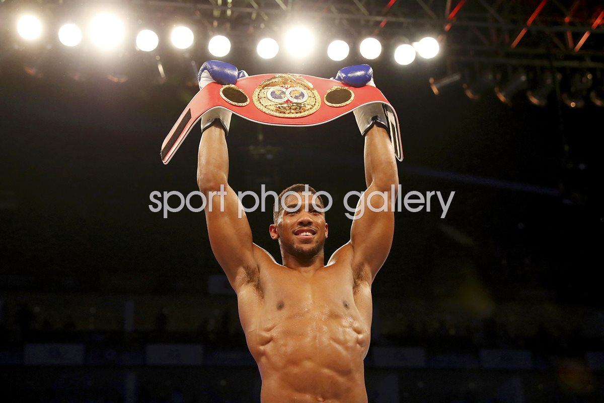 Anthony Joshua IBF World Heavyweight Champion 2016