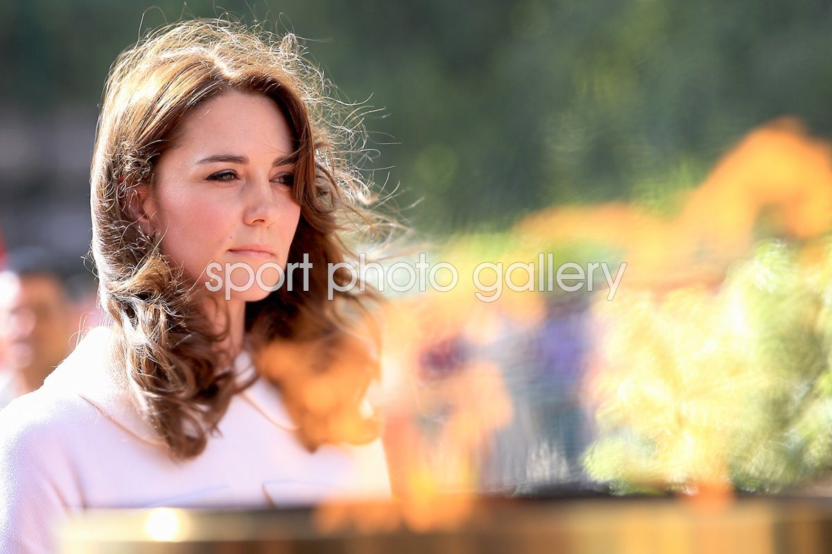 Catherine Duchess Of Cambridge Delhi india 2016