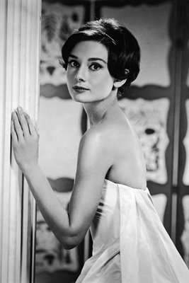 Early 1950's portrait Audrey Hepburn
