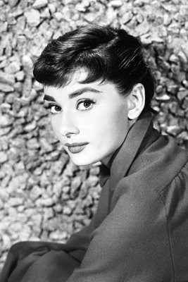 Portrait Of Audrey Hepburn early 1950s