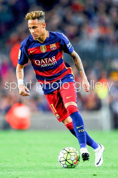 La Liga 2016 Print   Football Posters   Neymar