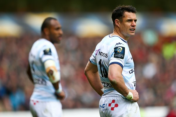 Dan Carter Racing 92 v Leicester Champions Cup 2016