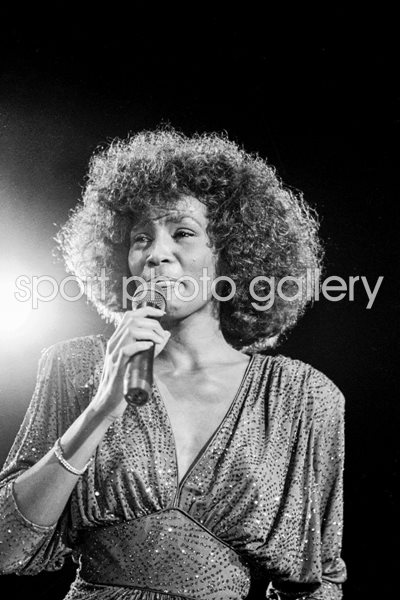 Whitney Houston London 1986