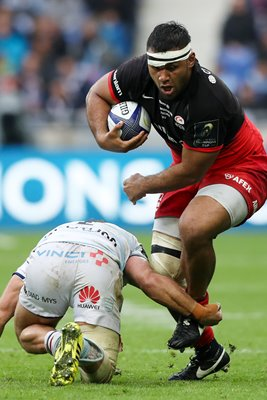 Billy Vunipola Saracens v Racing 92 Champions Cup Final 2016