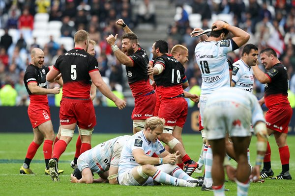 Saracens Champions Cup Final Victory Moment 2016