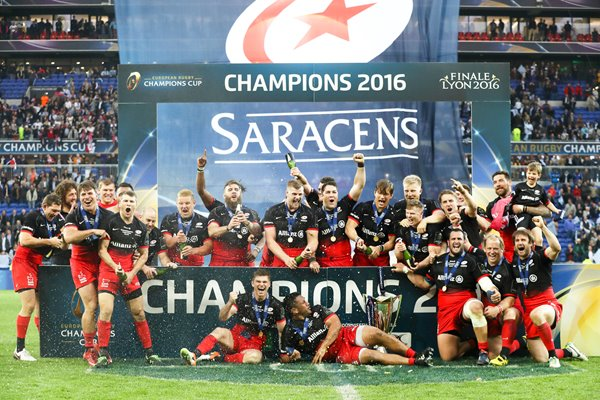 2016 Saracens European Champions Cup Winners Lyon