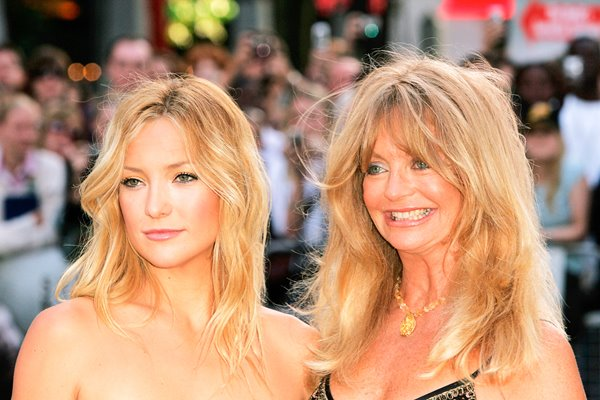 Kate Hudson and mother Goldie Hawn