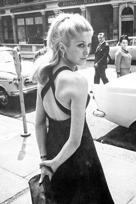 Deneuve in London 1964