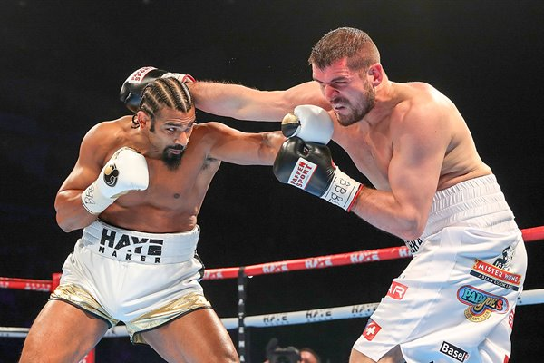 David Haye v Arnold Gjergjaj O2 London 2016