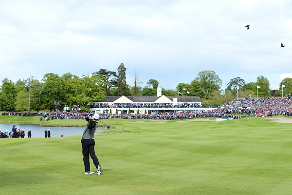 Rory McIlroy 18th Final Round Irish Open K Club 2016