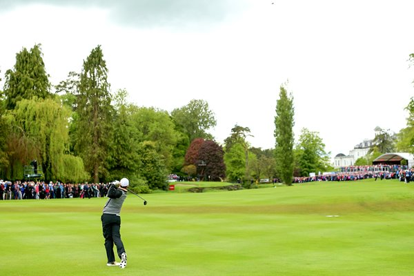 Rory McIlroy 16th Final Round Irish Open K Club 2016