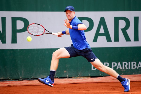 Kyle Edmund Great Britain 2016 French Open