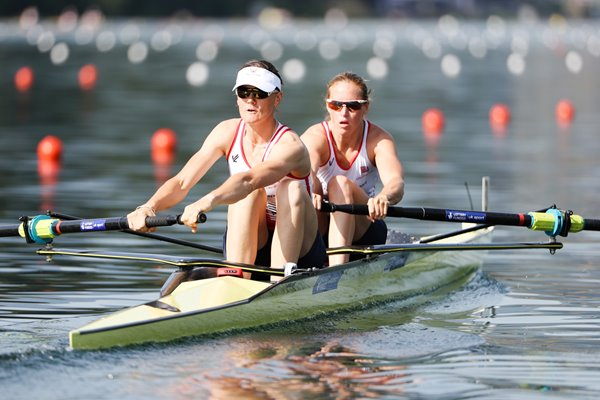 Helen Glover Heather Stanning 2016 World Rowing Cup II