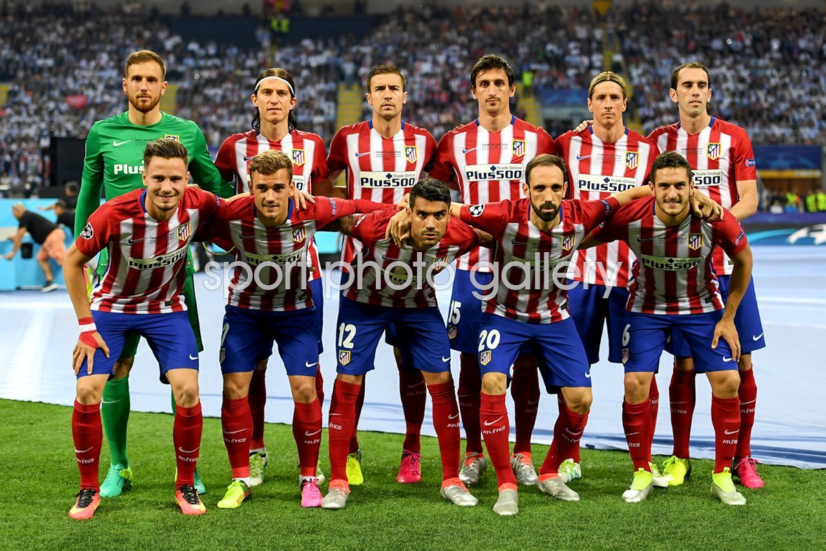 Atletico Madrid Champions League Final Milan 2016