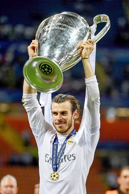 Gareth Bale Real Madrid Champions League Winner 2016