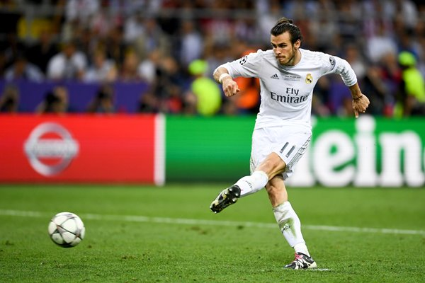 Gareth Bale Real Madrid penalty Champions League Final 2016