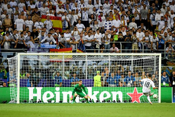 Lucas Vazquez Real Madrid penalty Champions League Final 2016