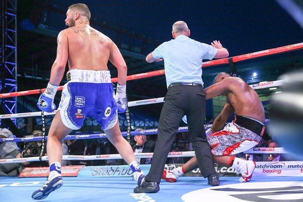 Tony Bellew v Illunga Makabu WBC Cruiserweight Fight 2016