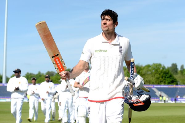 Alastair Cook England 10000 Test Runs Durham 2016
