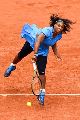 Serena Williams French Open Final Paris 2016