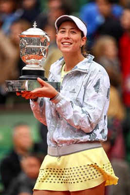 Garbine Muguruza French Open Champion 2016