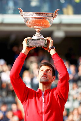 Novak Djokovic French Open Champion 2016