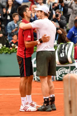 Andy Murray & Novak Djokovic French Open Final 2016